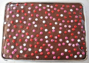 Chocolate Sheet Cake Brownies