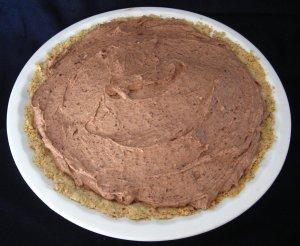 Chocolate Caramel Pecan Cheesecake Pie