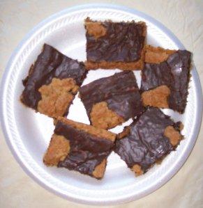 Fudge Nut Bars