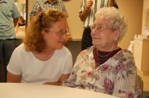 Melinda & Grandma