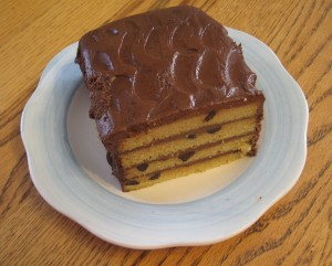 Chocolate Chip Torte