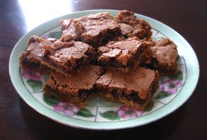 Chocolate Toffee Bars