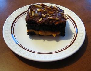 Caramel In Between Chocolate Fudge Cake