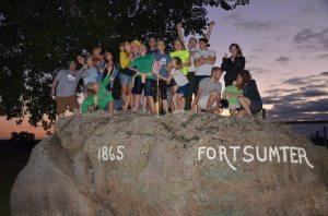 Fort Sumter rock
