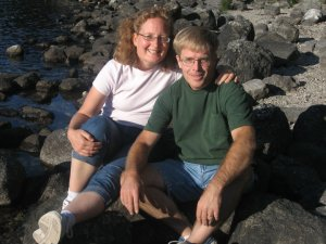 Mom and Dad Grand Teton National Park