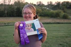 Angel Girl's prize photo