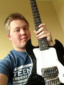 Pedro's guitar