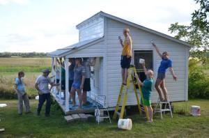 painting playhouse